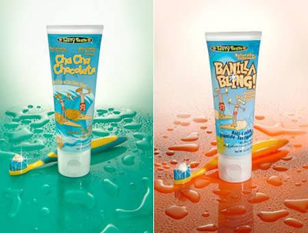 pasta dientes helado