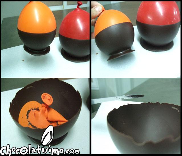 Decoracion en chocolate un bol de chocolate para servir con tus postres chocolatisimo - Decoracion con chocolate ...